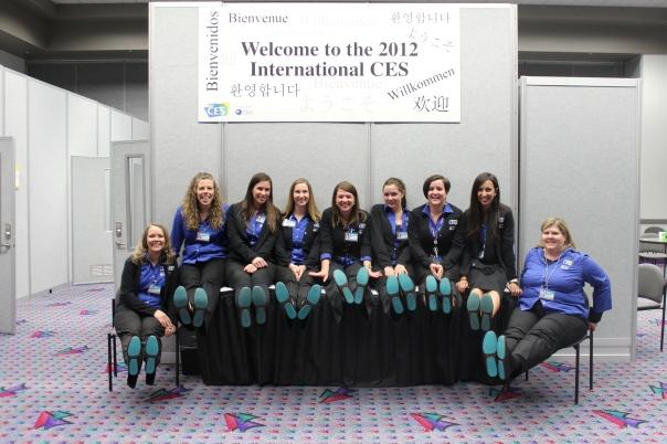 CEA/CES staff loving our Tieks!